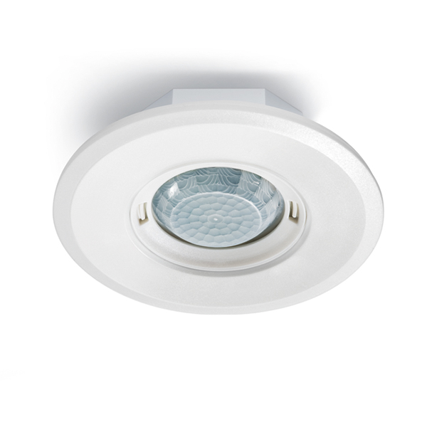 Motion detector for ceiling mounting, 360°, Ø8m, IP20