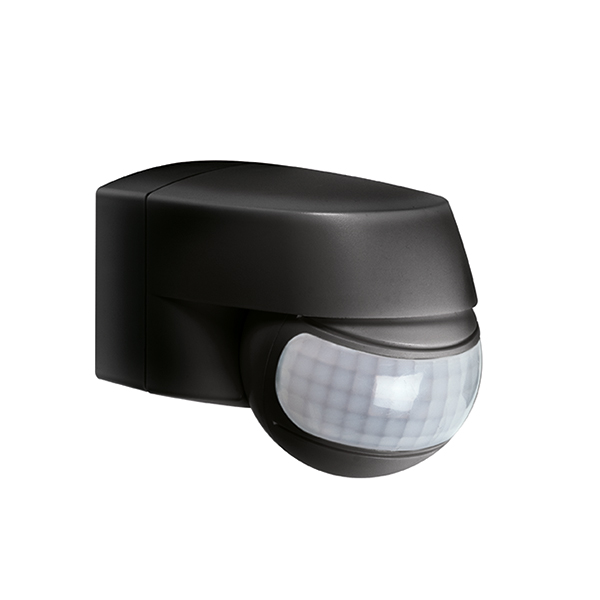 MD 120 motion detector wall/ceiling mounting, IP44 black
