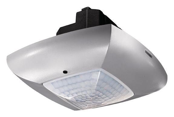 DALI-Presence detector, ceiling, 360°/49m²/IP40, silver