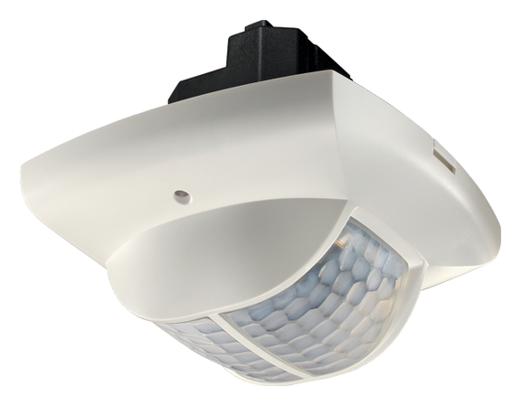 Presence detector, ceiling instal. 360°, 135m², IP40, white