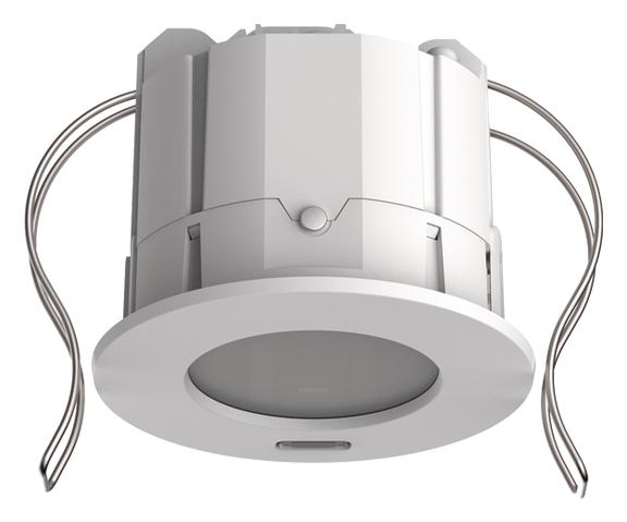 LON-Presence detector, ceiling mount. 360°/49m²/IP20, weiß