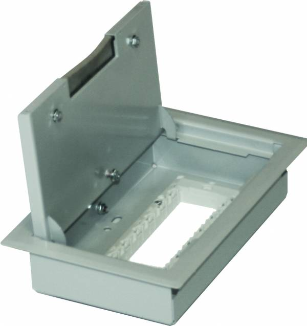 Floor box MT 7, 170x260x65mm
