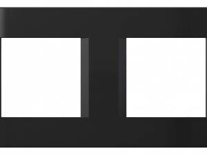 Cover frame 2x2M, black