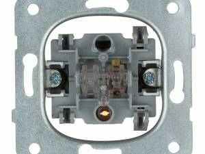 Push button with orientation light L-L1, normally open