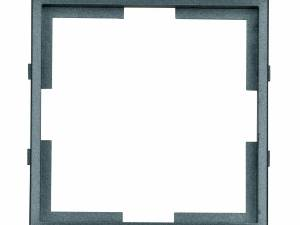Adapter frame 55x55mm to 50x50mm, anthracite