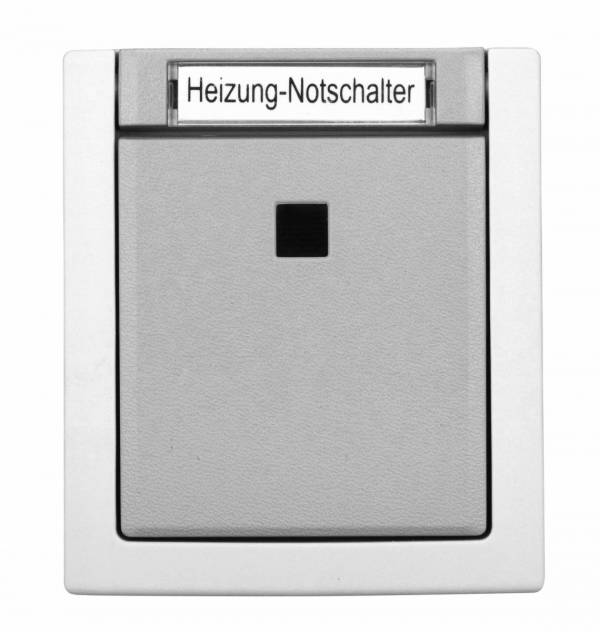 Heating Emergency Switch, 16A, 2pole, screw connection
