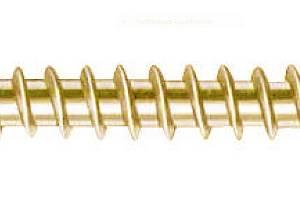 Chipboard screw, countersunk, SCR-CS-WO-Z3-(A2L)-6x100/60mm