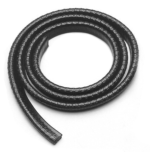 Edge protection with metal insert, wall thickness 1-2mm, 10m
