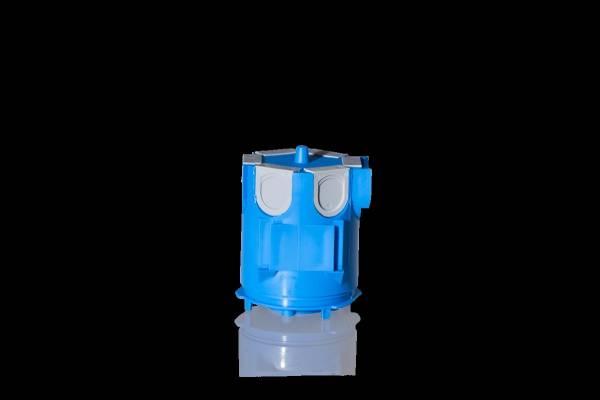 Concrete lighting socket including sider Ø 35mm, depth 84mm