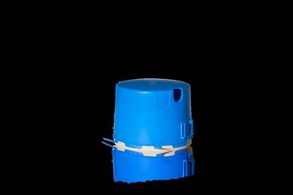 Large socket Ø 170mm with mineral fiberboard including slide