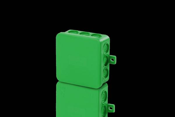 Damp area junction boxes IP54, 85x85x40mm