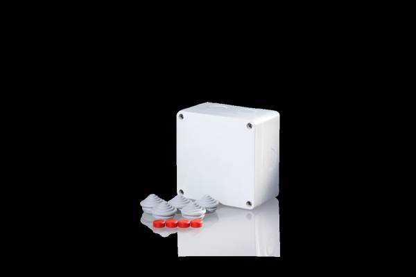 Damp area junction boxes IP65, for pipes up to 6mm²