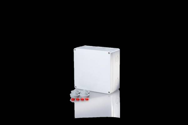 Damp area junction boxes IP65, for pipes up to 16mm²
