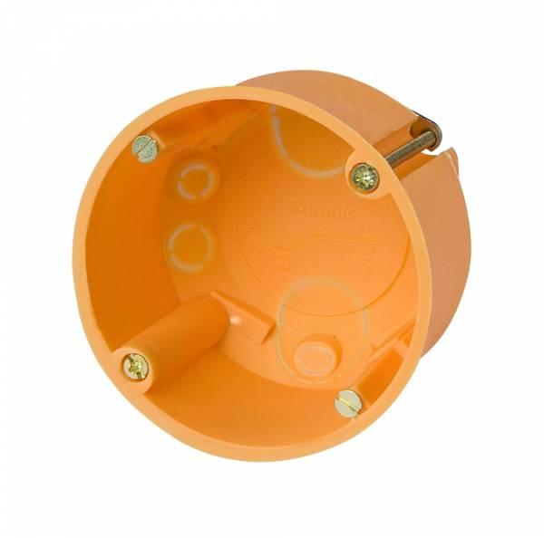 Cavitywall socket di60/d47mm, orange, PP