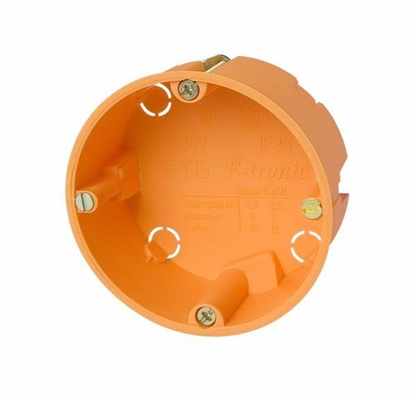 Cavitywall socket di60/d35mm, orange, PP