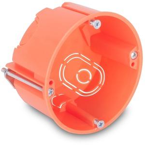 Distribution box, Ø 65 mm, 45 mm, chlorinefree, orange