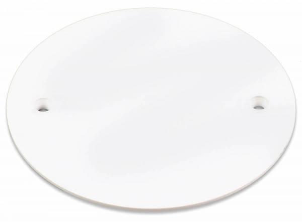 Cover lid, Ø 65 mm, white
