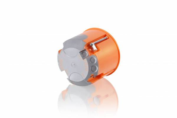 Cavitywall connection box, windproof 60/d61mm,orange,M25, PP