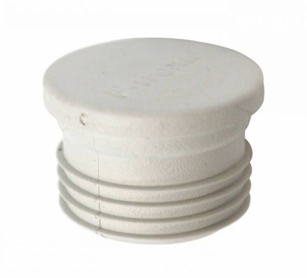 Pipe closing plug windproof do25/di19mm, membrane, grey
