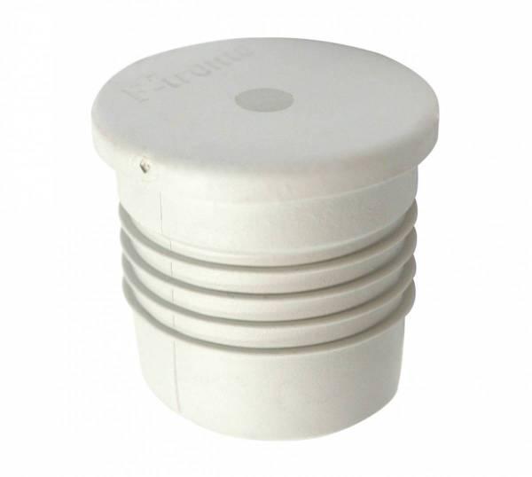 Pipe closing plug windproof do32/di25mm, membrane, grey