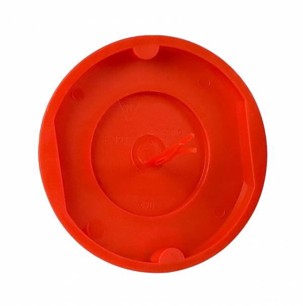 Socket boxcover d70mm+signal-red