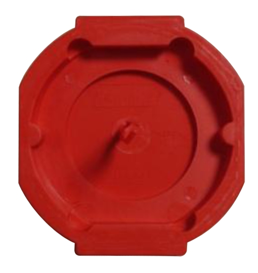 Signal-switch-can lid, red, for GTDU810