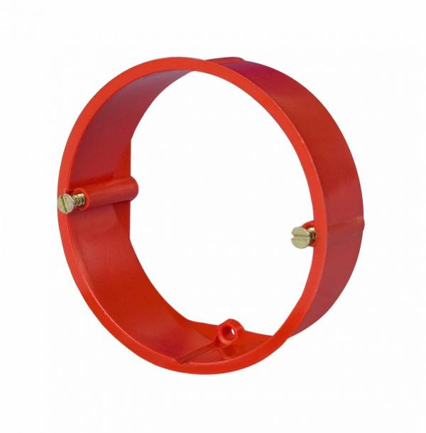 Plastering adjustment ring d70h12mm, red