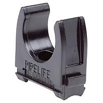 interlinkable clip M63, carton 25pc, black halogen-free