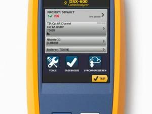 Fluke Cable Analyzer DSX-600 INTL