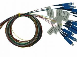 FO Pigtail SC, 9/125µm OS2, 2.0m, 12 pcs, PREMIUM Class B