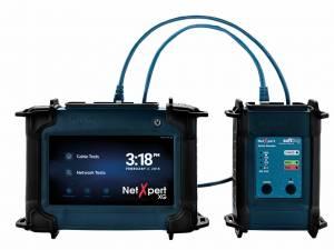 NetXpert XG Network-qualifier, copper/fiber, 1 Gbit/s