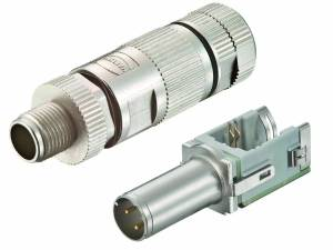 WireXpert - M12 D-coded connector for preLink® System Cat.5