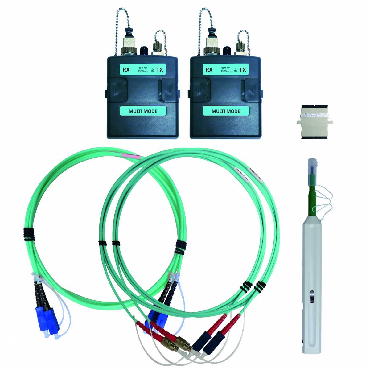 WireXpert - Multimode fiber optic measurement module set