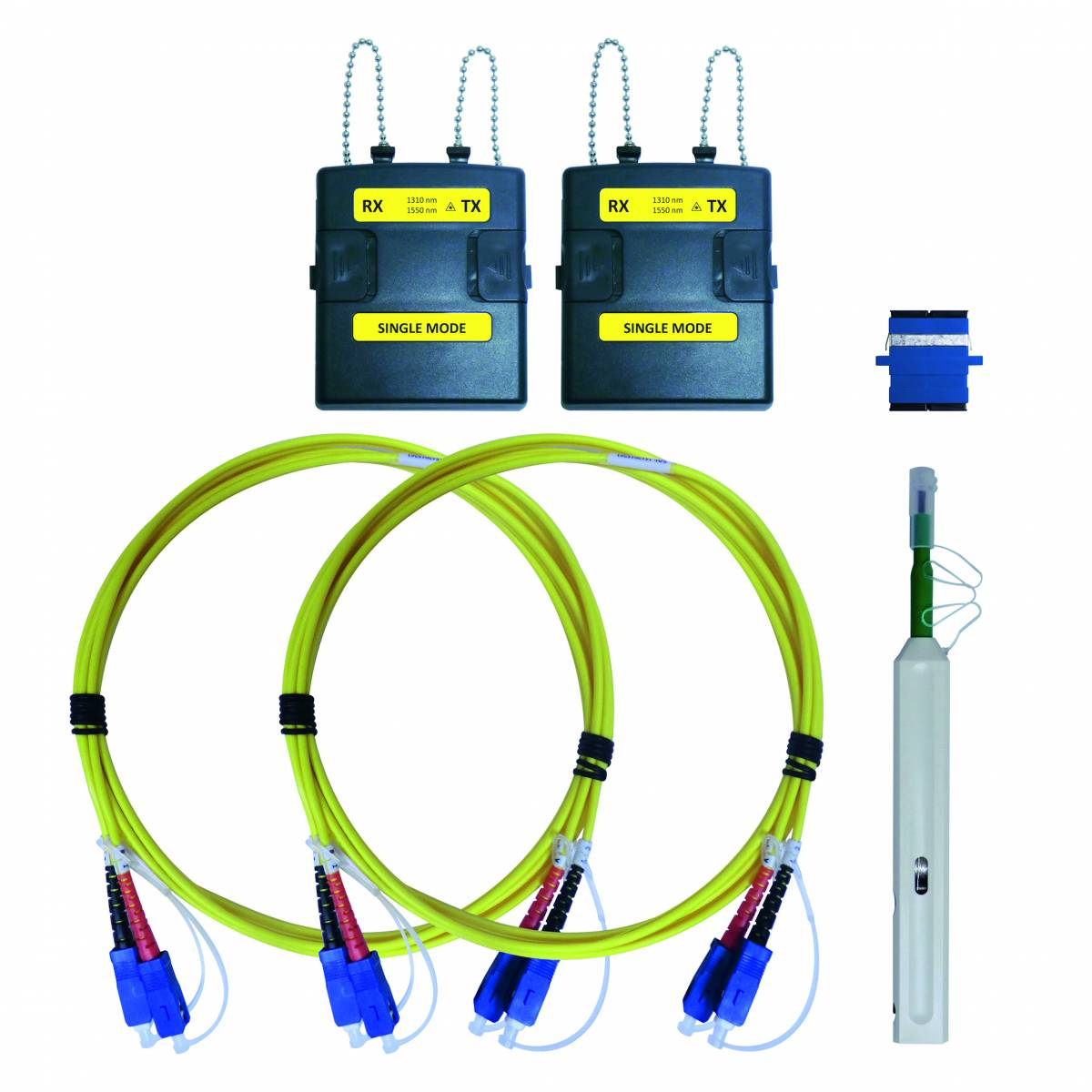 WireXpert - Singlemode adapter, 2 fiber optic adapters