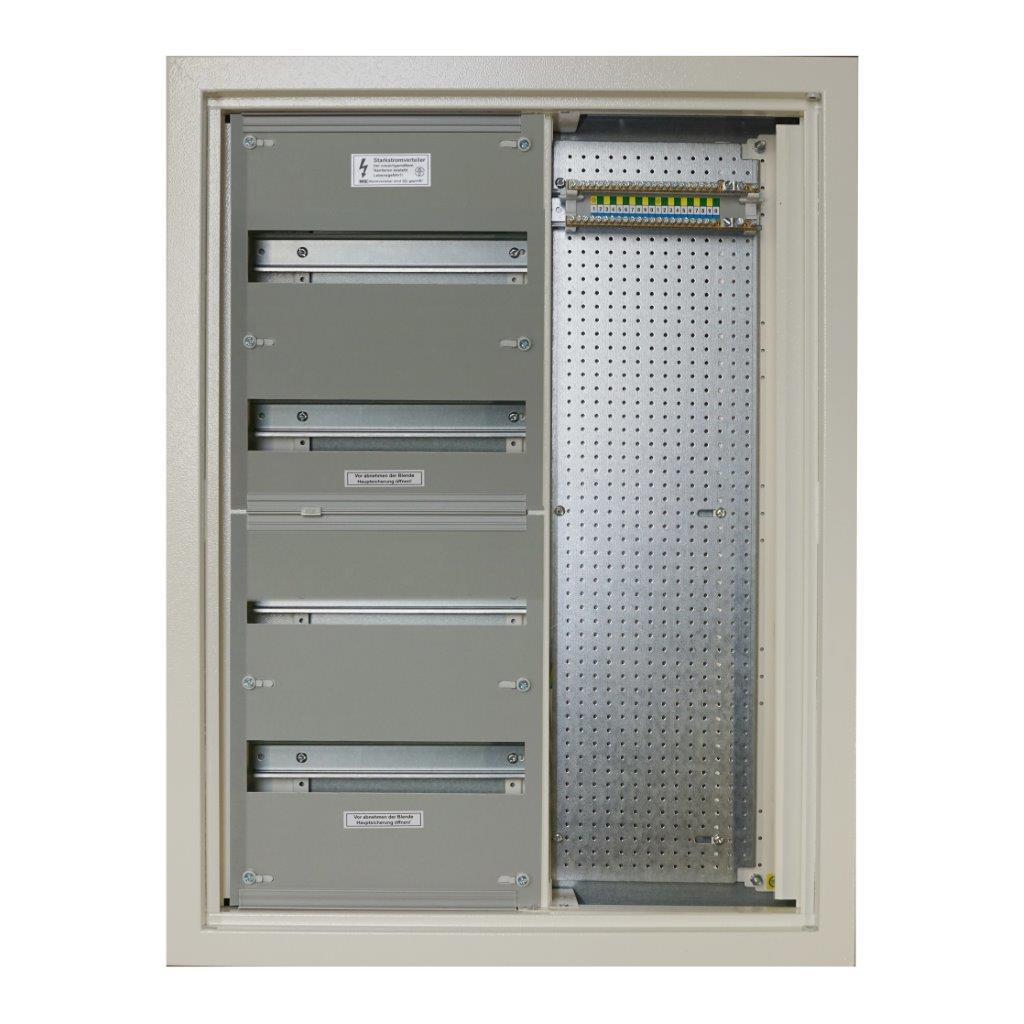 Flushmount combination homecabinet, W595xH785xD116, RAL9010