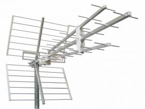 DVB-T/ UHF Antenna,antioxidant treatment ,F,Channel21-60,Alu