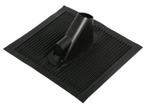 SAT Roof tile with cableentry,45x50cm,Mast:38-60mm,Alu,black