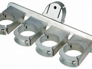 SAT LNB Holder (Aluminium) for 4 LNBs, Adjustable
