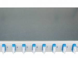 "FO Splicebox, 12 Fibers, SC, 9/125µm OS2, 19"", 1U, Class B"