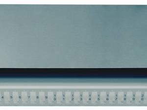 FO Splicebox empty for 24 SC-Duplex couplers, 1U, RAL7035