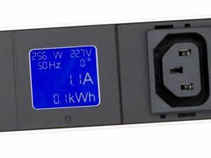 """IT METER LINE PDU, integrated Power Metering, 12xC13, 19"""",1U"""