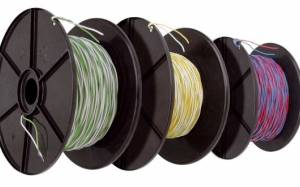 Telephony Jumper Wire YV2x0,5/0,9 white-blue