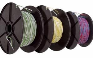 Telephony Jumper Wire YV2x0,5/0,9 white-black