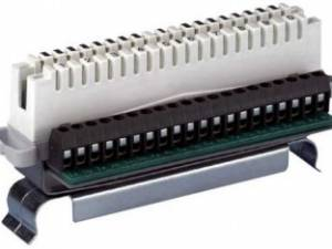 Telephony Adapter Disconnection module,10p.screw terminal,RR