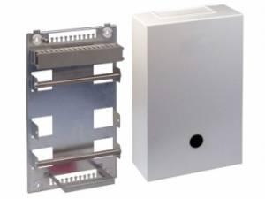 Telephony Metal Distribution Box VKA2, 100 pairs, Round Rod