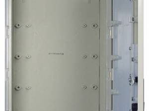 Cable man. encl. 1door, size00H, RAL7032, plain 94°, IP44