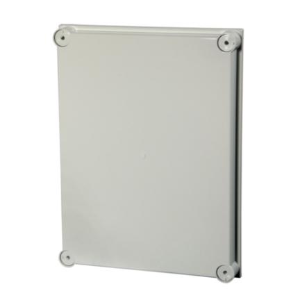 Cover Polycarb. grey f. IG706111, 200x300x40 mm,halogen free