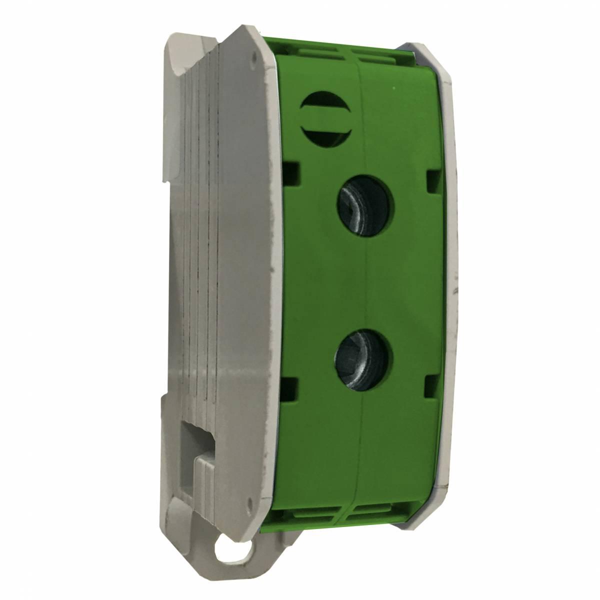 Aluminium /Copper terminal, 1 pole green, 50mm²