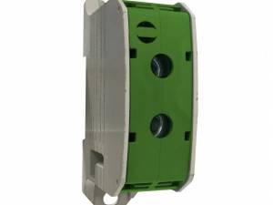 Aluminium /Copper terminal, 1 pole green, 95mm²