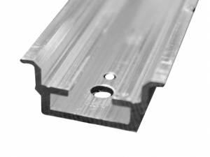 Aluminium H/C rail 2H/C